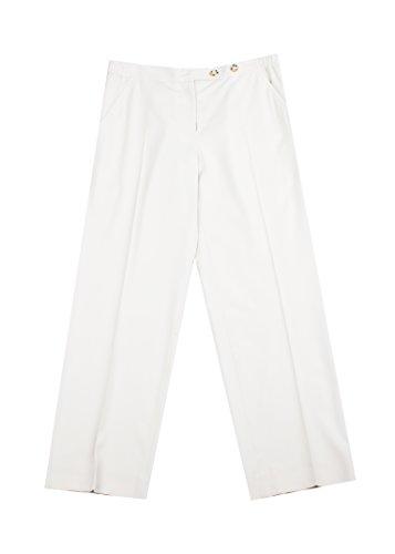 Prada Women's Virgin Wool Chino Trouser Pants Khaki