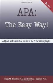 APA: The Easy Way! Publisher: Baker College; Revised edition
