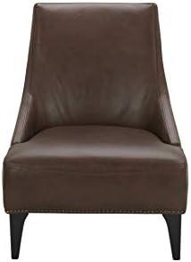 Amazon Brand Stone Beam Shorebrook Deep Leather Accent Chair
