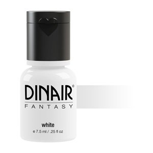 Dinair Airbrush Makeup – Fantasy Bright Colors 4 Face & Body Art – WHITE .27 fl oz