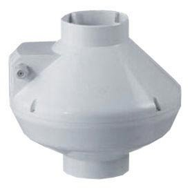 Acme Miami Home Commercial AFR-150 6'' Booster Centrifugal Fan Plastic - 325 CFM