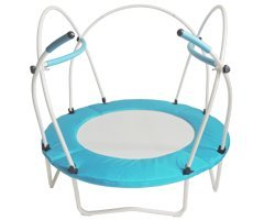 Health Bounce B Pod XL MiniTrampoline Rebounder for heavier people and wheelchairs with safety support by Health Bounce