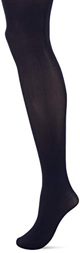 HUE Women's High Waist Tights with Control Top, Navy, 2