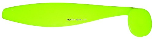 Blue Water Candy - Rock Fish Candy 9-Inch Shad Bodies, 12 Pack ()