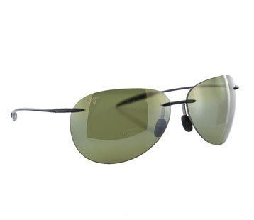 Maui Jim Sunglasses - Sugar Beach / Frame: Smoke Gray Lens: Polarized Maui HT by Maui - Jim Mau Sunglasses