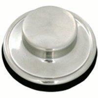 Waste King 3164 3-Bolt Mount Sink Flange Stopper, Satin Nickel