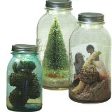 1 Primitives By Kathy Antique Silver Moon Shiner Solar Powered Jar Lid Only Indoor/Outdoor