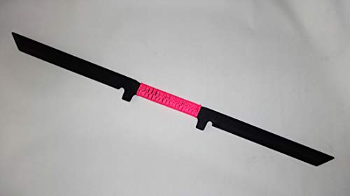 Kalaj Kutter Ninja Training Sword Katana Practice Blade Arnis Kali Combat Custom Pink -