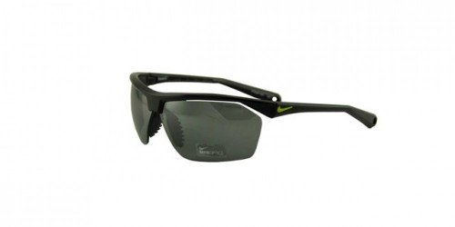Nike Tailwind 12 Sunglasses, Black/Voltage, Grey with Silver Flash Lens