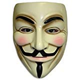 GnG V For Vendetta Mask Guy Fawkes Anonymous Cosplay costume Halloween Party Face