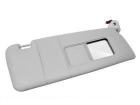 BMW e46 Sun Visor w  illuminated Mirror RIGHT (Gray) OEM Brand NEW 3 ... 2c5712f3cb2