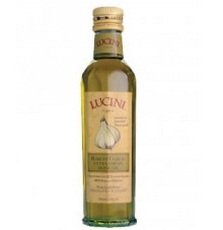 Lucini Italia Robust Garlic Extra Virgin Olive Oil, 8.5 Fluid Ounce - 6 per case.