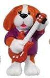 (Webkinz Mini PVC Figure Rock 'n Roll Beagle)