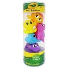 Crayola Bathtime Squirt Squeeze Squirters