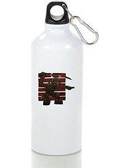 Armed Snake Eyes Cool Aluminum Sports Water Bottle - 400/500/600ML 400ml
