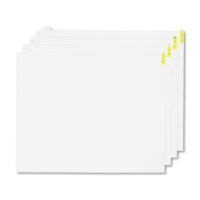 Walk-N-Clean Mat 60-Sheet Refill Pad, 30w x 24h, 4/Carton, White, Sold as 4 Each