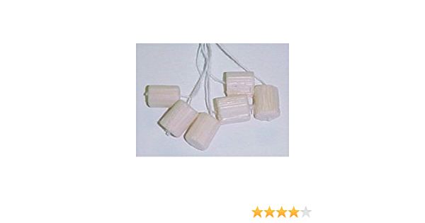Pith Balls with String Plain Pack of 60