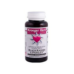 Herb Kroeger 100 Capsules (Kroeger Herb Black Radish and Parsley - 100 Capsules)