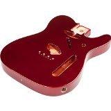 Fender Telecaster Body with Alder Vintage Bridge Mount, Candy Apple Red