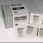 Pedinol Pharmacal Pedi-boro Soak Paks - Box of 100