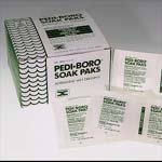 Pedinol Pharmacal Pedi-boro Soak Paks - Box of 100 by MyDirectAdvantage