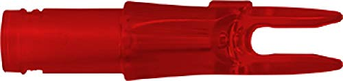 Easton 3d Super Nocks - Easton Super 3D Nocks Dozen Bag, Red