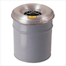 Justrite 26555 Cease-Fire Aluminum Head, 24'' OD, For 55 Gallon Drum