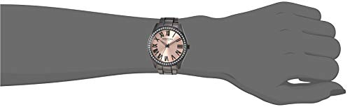 Kenneth Cole New York Women's Classic Stainless Steel Analog-Quartz Watch with Alloy Strap, Grey, 18.1 (Model: KC50664005)
