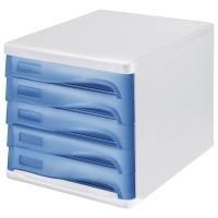 helit H6129984 Helit Schubladenbox blau