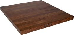 John Boos WALKCT-BL6036-V Blended Walnut Counter Top with Varnique Finish, 1.5