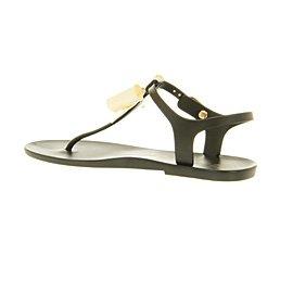80dee8dd2c48d9 Ted Baker Aster Bow Sandal Black cream Pvc - 8 Uk  Amazon.co.uk  Shoes    Bags