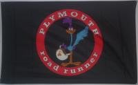 road-runner-plymouth-traditional-flag