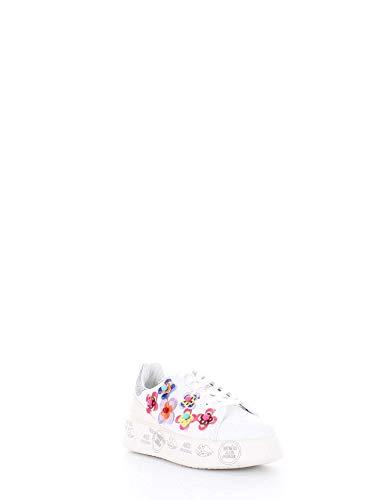 Blanco Mujer Premiata Zapatillas 3008 Belle qwCxFI4Agz
