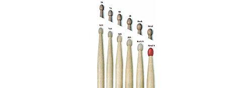 Nylon 3a Drumsticks (Vic Firth American Classic Drumsticks - 3A - Nylon Tip)