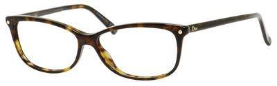 DIOR Eyeglasses 3271 0086 Havana 53MM - Frame Christian Dior Eyeglasses Cd