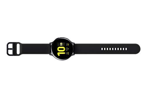 21iGiw8NKCL Samsung Galaxy Watch Active 2 (Bluetooth, 44 mm) - Black, Aluminium Dial, Silicon Straps