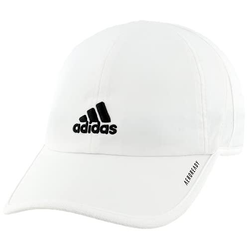 adidas Men's Adizero II Cap, White/Black, ONE SIZE