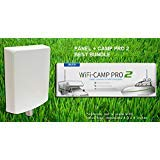 Alfa WiFi Camp Pro 2 Long Range WiFi Repeater kit + Alfa APA-L2410 10dBi Panel by ALFA Networks