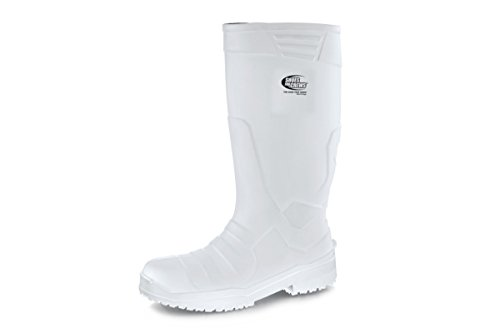 Crews Chaussures Pour Sentinel 10 nbsp;uk Bottes Pu Taille Unisexe Blanc a1R5gqw