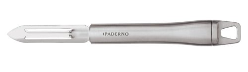 Paderno World Cuisine 7-5/8-Inch Potato Peeler with Stainless Steel Blade and Handle