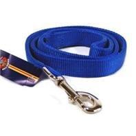 Hamilton Double Thick Nylon Dog Walking Lead, 1-Inch by 4-Feet, Blue