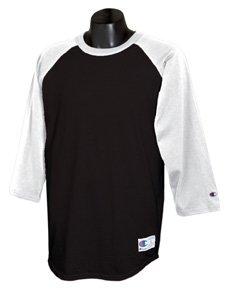 Champion 6.1 oz. Tagless Raglan Baseball T-Shirt