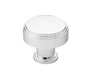 Emtek 86432 Newport 1-1/4 Inch Diameter Mushroom Cabinet Knob from the American, Polished (Newport Cabinet Hardware Knob)