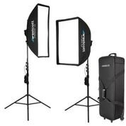 Unmatched Versatility Solix is the first compact continuous LED light source with an integrated rotatable speedring for attaching traditional mid-sized softboxes up to 4.5 lbs. Versatile daylight LED kit for photographers and filmmakers Hassl...
