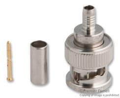 KINGS 2065-11-9 RF/COAXIAL, BNC PLUG, STR, 75OHM, CRIMP (1 piece)