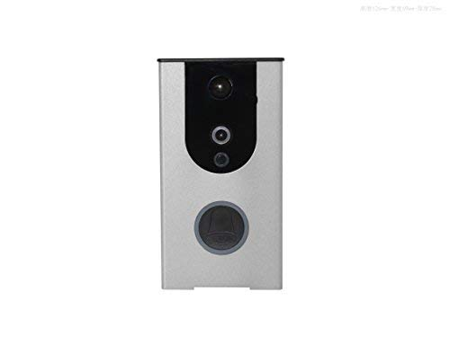 Wireless Door Bell Smart Wi-Fi Camera Video Doorbell Security Camera with PIR Motion Detection HD, Real-Time Two-Way Talk and Video, Night VisionChristmas Offer Price