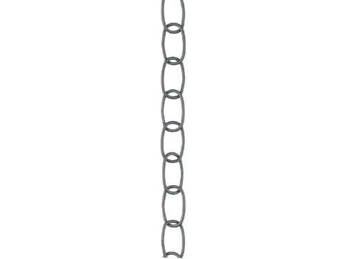 (Kichler 4901BRSG Accessory Chain Heavy Gauge 36-Inch, Brushed Silver &)