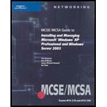 MCSE/MCSA Guide to Installing & Managing Microsoft Windows XP Professional & Windows Server 2003 (06) by Simpson, Ted - DiNicolo, Dan - Stewart, James Michael - Tittel, [Paperback (2008)]