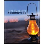 Intermediate Accounting, James M. Wahlen and Jefferson P. Jones, 1111822379
