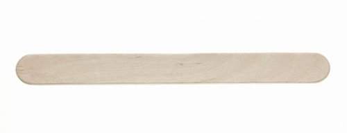 Medline MDS202045 Non-Sterile Tongue Depressor, X-Large (Pack of 1000) (Wood Medline)